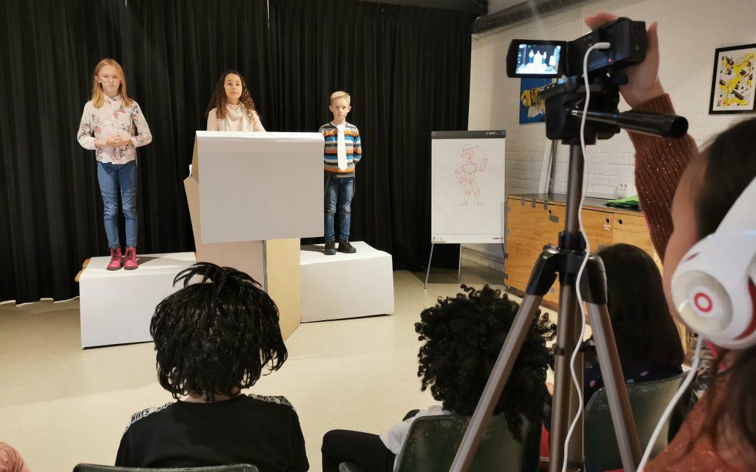 Persconferentie bij NRDTV