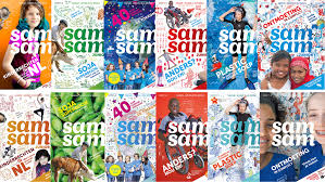 Met SamSam magazine op pad!