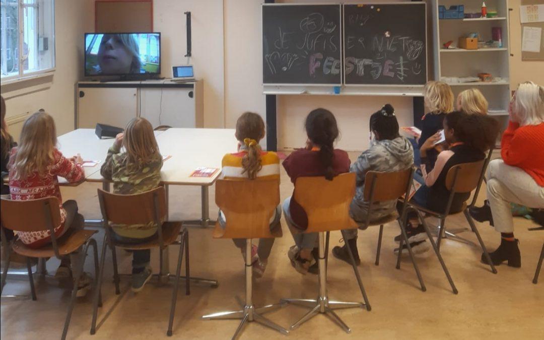 Presentatie Vloggen en Bloggen op de Barbaraschool