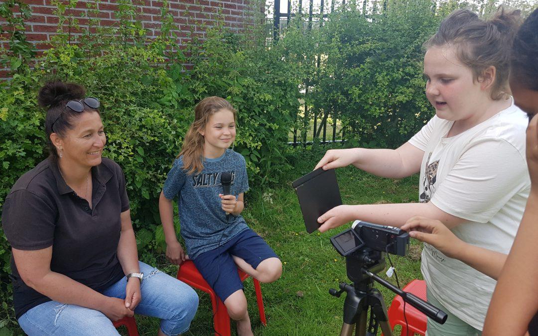 KinderPersBureau Bloemenkwartier in gesprek met tante Annie!