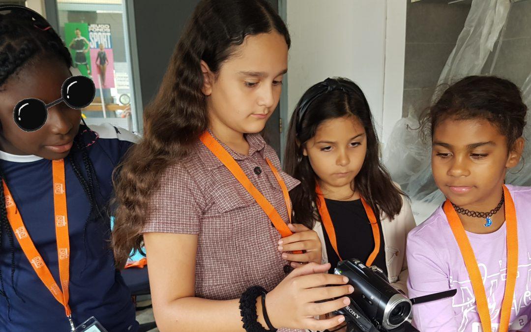 De reporters van het KinderPersBureau Volewijck gaan de buurt onderzoeken!